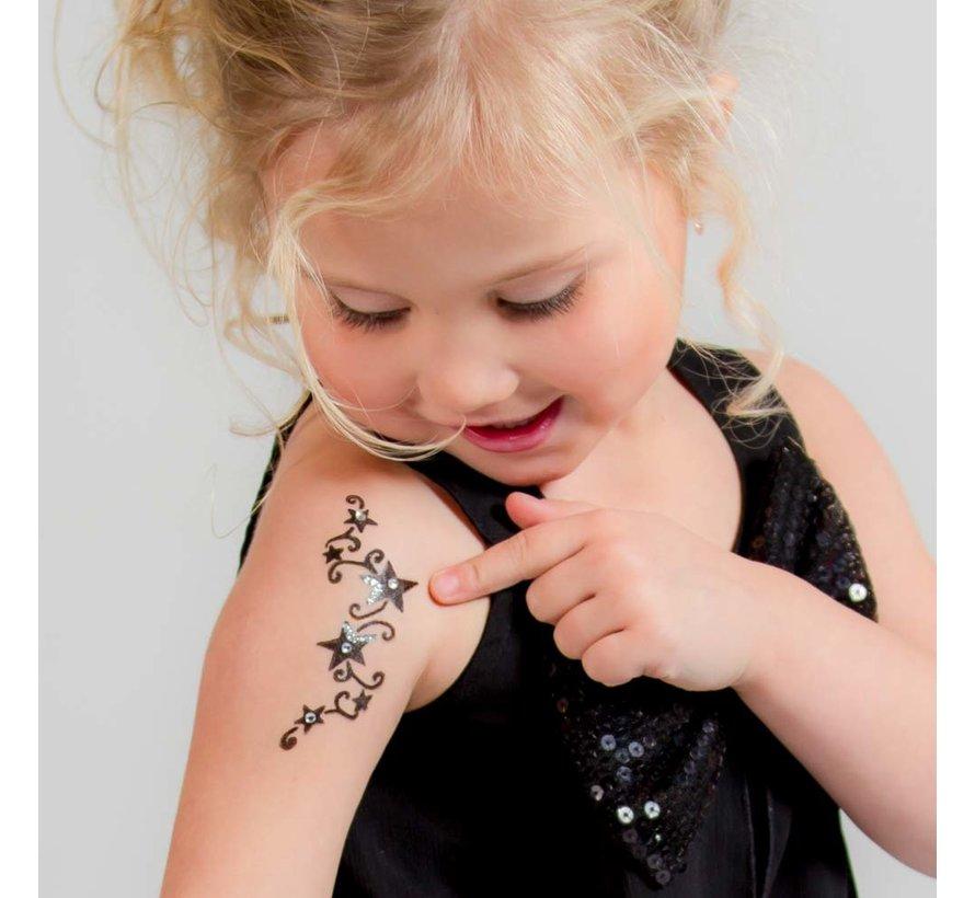 LaDot Tattoo Steen Taille S | Muziek Ster