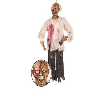 "Partyline Hanging doll Halloween ""Dead Man Face"" 160 cm | Deco Halloween"