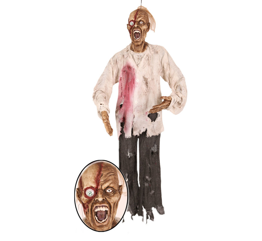 "Hanging doll Halloween ""Dead Man Face"" 160 cm 