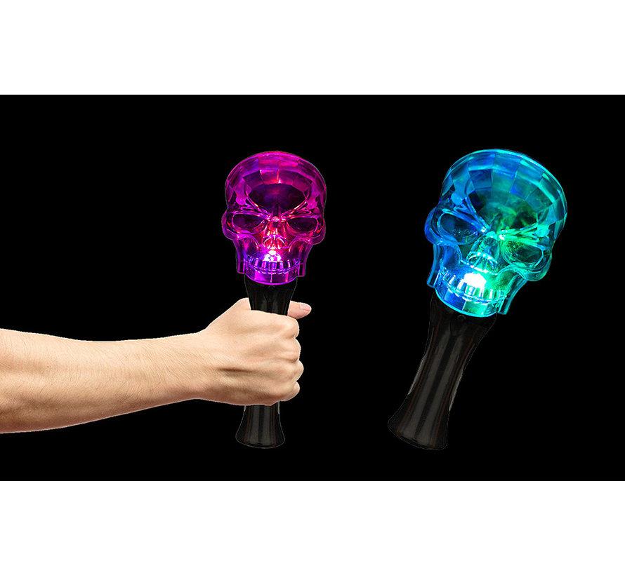 Luminous Halloween Torch | Led Skull Magic Wand
