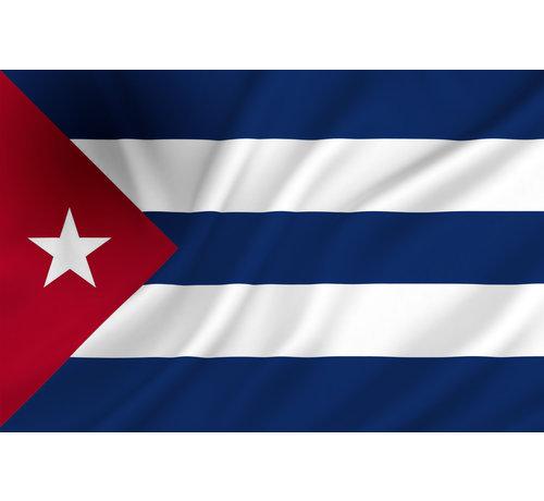Funny Fashion Cubaanse Vlag    Vlag 150 cm - 90 cm