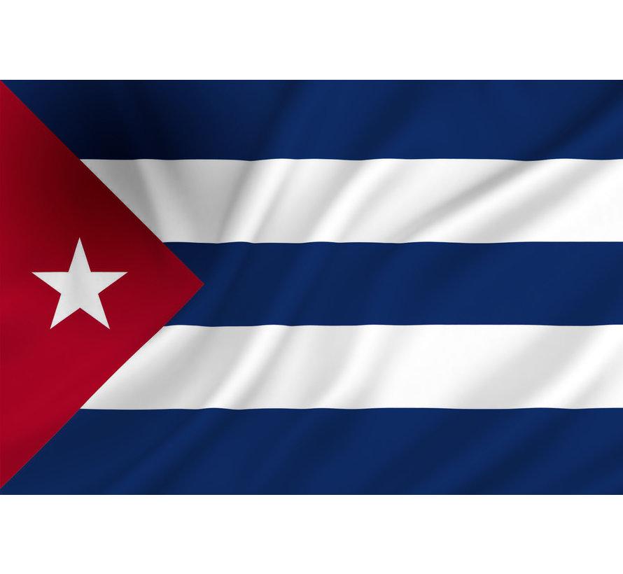 Cubaanse Vlag    Vlag 150 cm - 90 cm