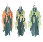 "Partyline 3 hanging dolls Halloween ""The funk brothers"" 60 cm 