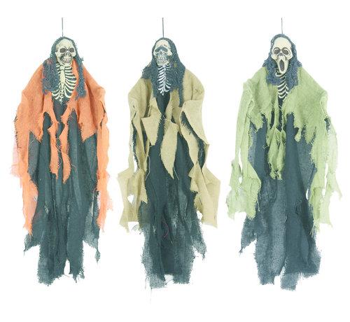 "Partyline 3 hanging dolls Halloween ""The funk brothers"" 60 cm | Deco Halloween"