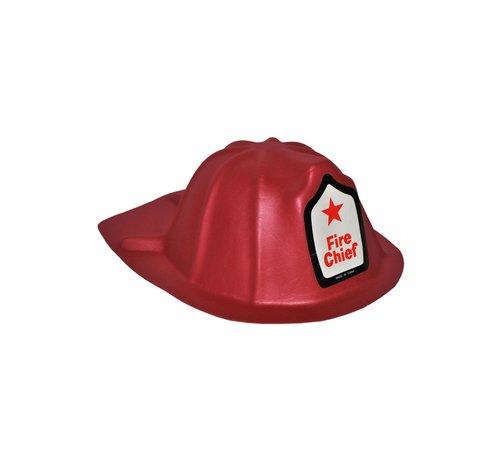 Partyline Brandweerhelm voor kinderen | Brandweerhelm  in foam