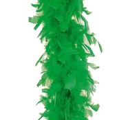 Partyline Green Boa 180 cm 50 gr | Feather Green Boa