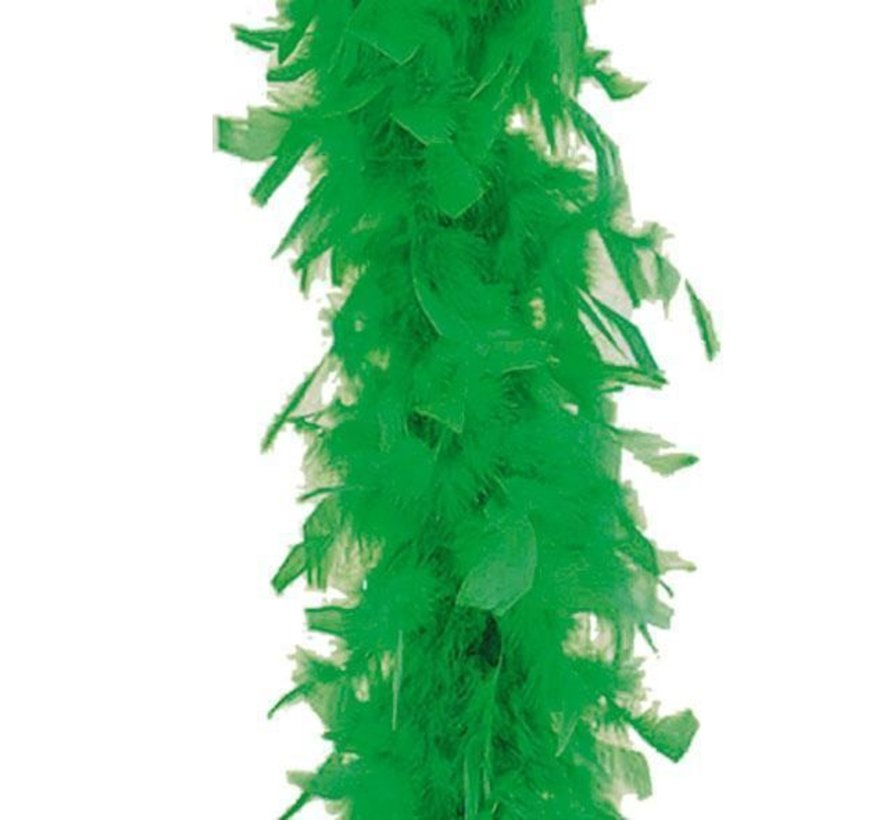 Green Boa 180 cm 50 gr | Feather Green Boa