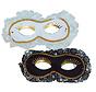 Duo Venetian Mask white / black | 2 Venetian Masks