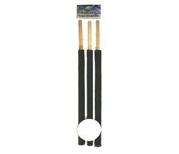Partyline Torches de lavage 60 cm | 3 pièces de torche | 70-90 minutes
