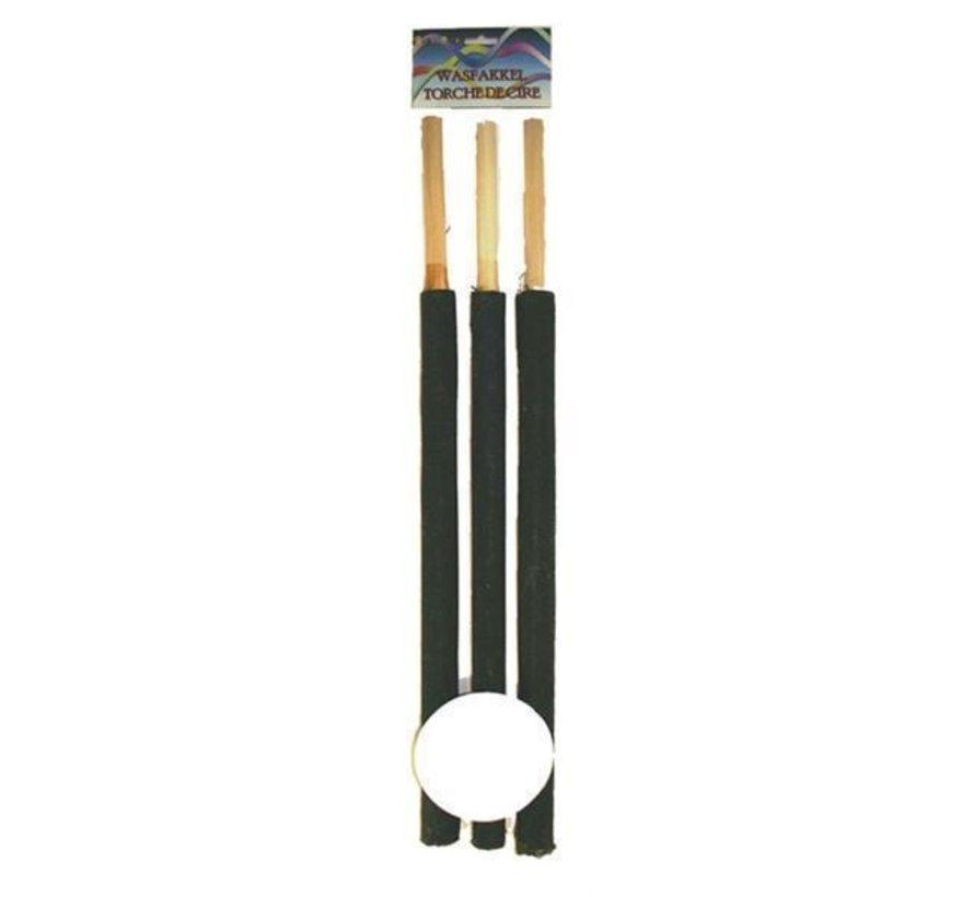 Torches de lavage 60 cm | 3 pièces de torche