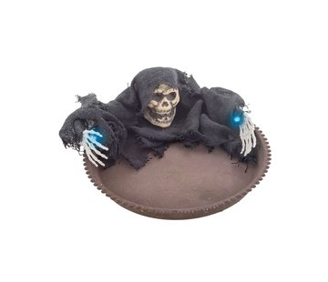 Funny Fashion Bol à bonbons Halloween 22 cm avec lumière | décoration Halloween