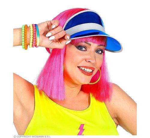 Widmann Blue sun visor | Sun visor in 80's style
