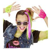 Widmann Accessoires d'habillage néon | Ensemble d'habillage néon des années 80
