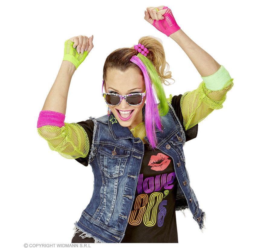Neon Verkleedset accessoires | Neon verkleedset 80's