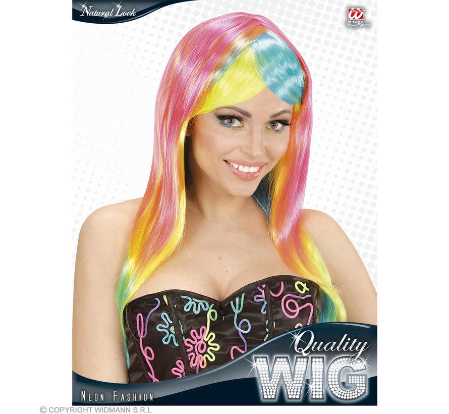 Neon Fashion Wig | Neon wig ladies