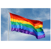 Wicked Costumes  Regenboog Vlag  | Vlag 150 cm - 90 cm  | Gay Pride Vlag