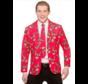 Veste et cravate amusantes du Père Noël | Veste renne