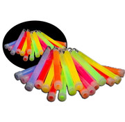Breaklight.be 25 x 6 inch Glow Sticks Mixed | Luminous sticks 15 cm x 10 mm