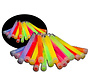 25 x 6 inch Glow Sticks Mixed | Luminous sticks 15 cm x 10 mm