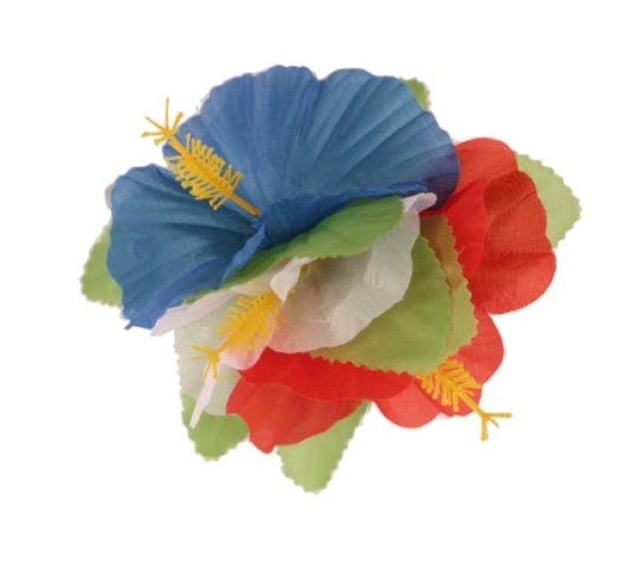 Fleur en épingle à cheveux d'Hawaï | Fleur d'Hawaï