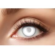 Partyline Blind White Zombie lenzen | 40 %  gezichtsvermogen - Witte lenzen