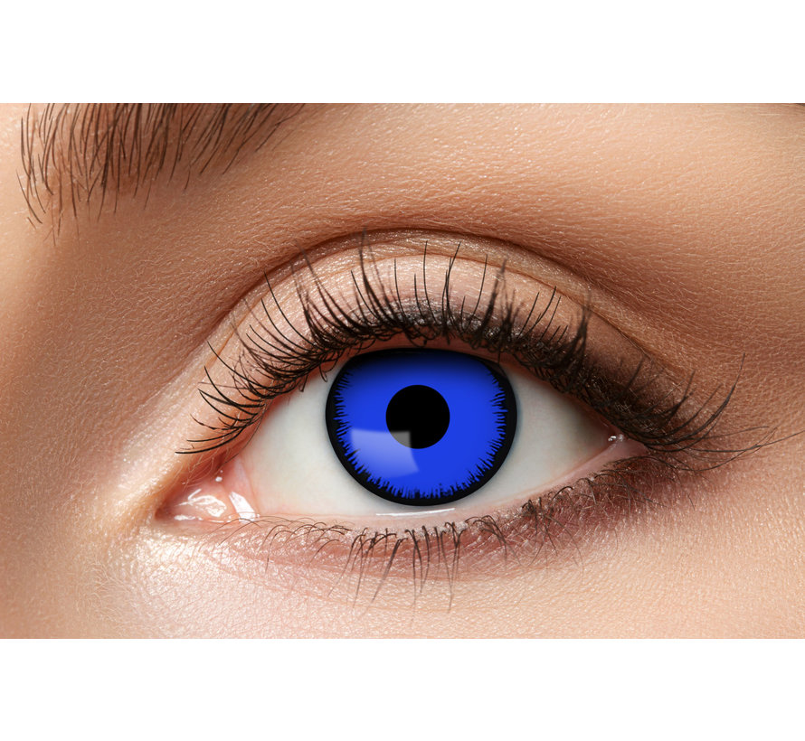 Lentilles Angelic Blue | lentilles de couleur bleue | lentilles 3 mois
