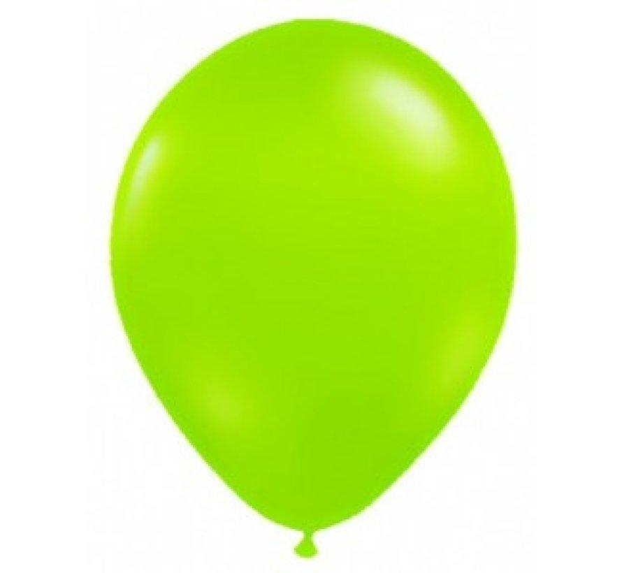 Neon UV groene  ballonnen  - 100 stuks  | UV Feest Ballonnen