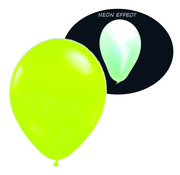 Breaklight.be Neon UV green balloons - 100 pieces | UV Party Balloons