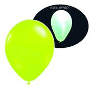 Breaklight.be Neon UV groene  ballonnen  - 100 stuks  | UV Feest Ballonnen