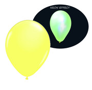 Breaklight.be Neon UV yellow balloons - 100 pieces | UV Party Balloons
