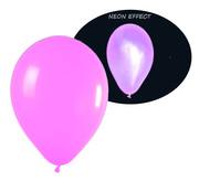 Breaklight.be Neon UV roze  ballonnen  - 100 stuks  | UV Feest Ballonnen