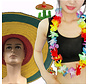 12 stuks  Summer Party pack   Hawaii slingers   Sombrero