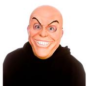 Wicked Costumes  Masque d'homme bizarre | Masque effrayant avec des dents et des sourcils maléfiques