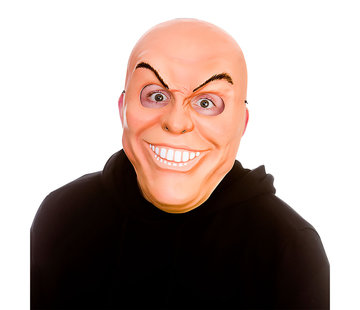 Wicked Costumes  Freaky man mask | Scary mask with teeth and evil eyebrows