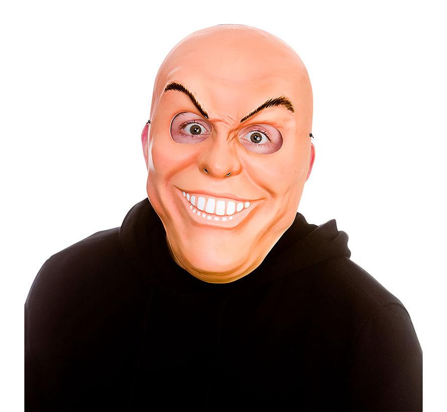 Masque d'homme bizarre | Masque effrayant avec des dents et des sourcils maléfiques