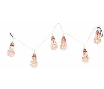 Partyline Halloween Slinger Lampen 110 cm met licht | Halloween decoratie | Horror Deco