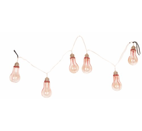 Partyline Lampes Guirlande d'Halloween 110 cm avec lumière | Décoration d'Halloween | Déco d'horreur