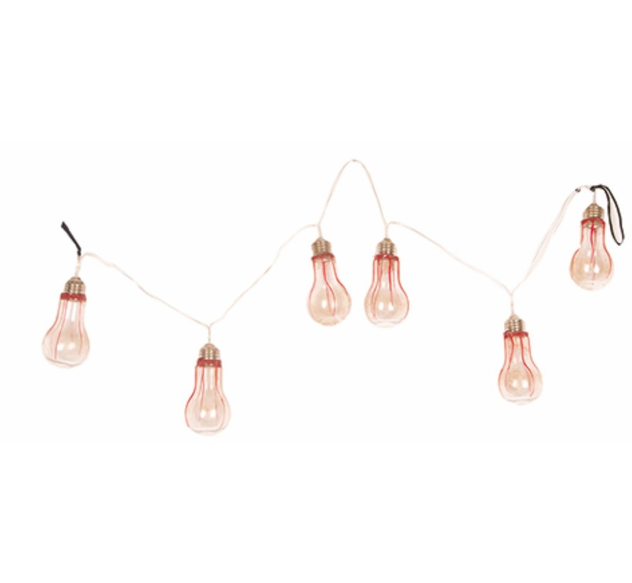 Lampes Guirlande d'Halloween 110 cm avec lumière | Décoration d'Halloween | Déco d'horreur