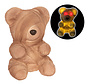 Ours zombie 23 cm avec lumière | Halloween Teddy 23 cm | Décoration d'Halloween