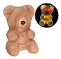 Zombie Teddybeer 23 cm met licht | Halloween Teddy 23 cm | Halloween decoratie