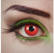 Aricona Devil Eye rode lenzen | Rode kleurlenzen zonder sterkte  | Halloween daglenzen