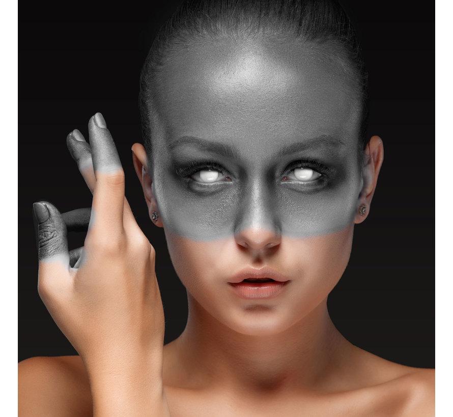 Blind White Behind Bars white lenses | White color lenses without vision correction | Halloween lenses