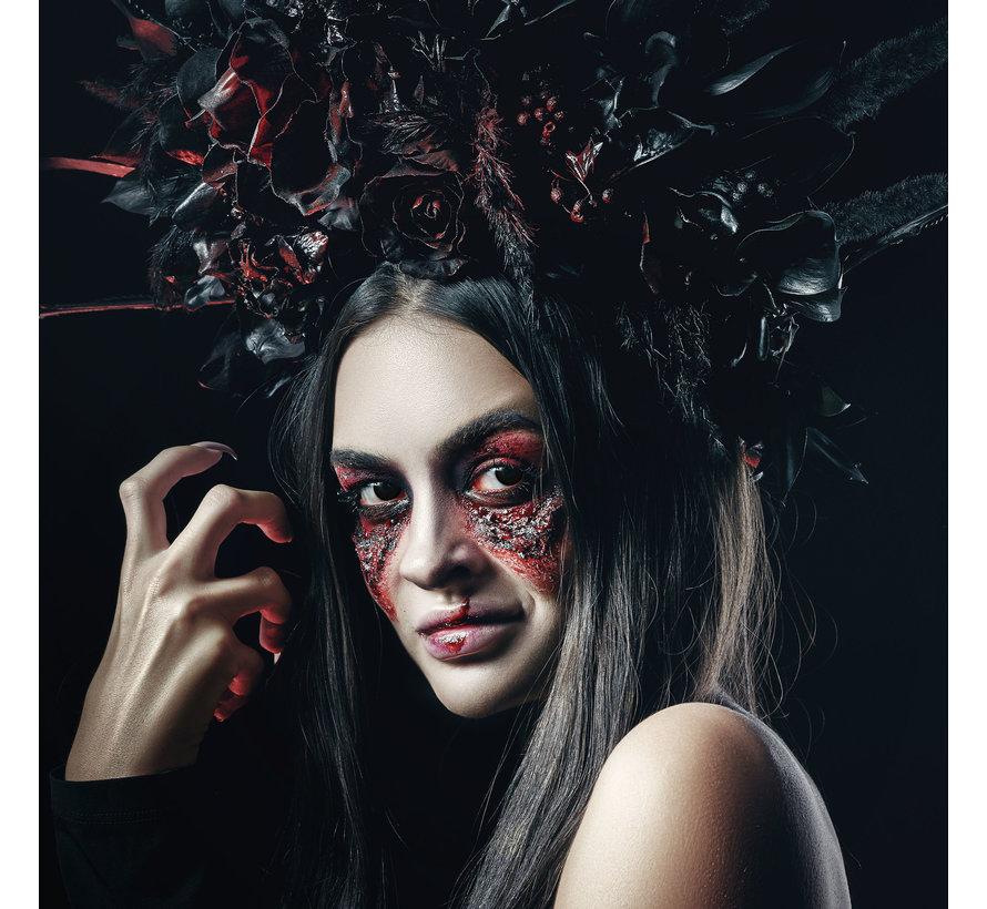 Black Desire zwarte lenzen | Zwarte kleurlenzen zonder sterkte  | Halloween daglenzen
