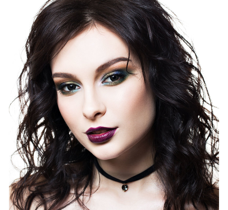 Black Desire lenses   Black color lenses without vision correction  Halloween daily disposables
