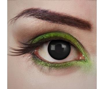 Aricona Black Desire lentilles noires    Lentilles de contact  quotidiennes noires   Jetables quotidiens d'Halloween