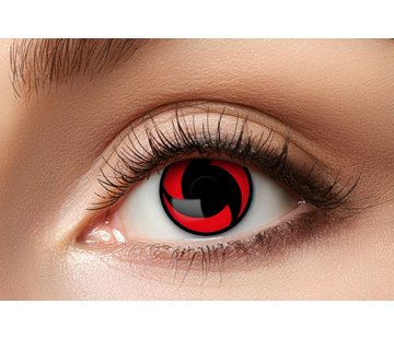 Eyecatcher Sharingan color lenses Mangekyou | Red contact lenses | Halloween lenses for 3 months of use