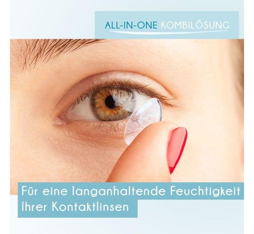 Solution pour lentilles 60 ml avec boîte de rangement