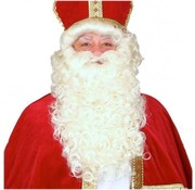Breaklight.be St.Nicholas Wig | Wig of St.Nicholas| Fireproof | St.Nicholas and his help