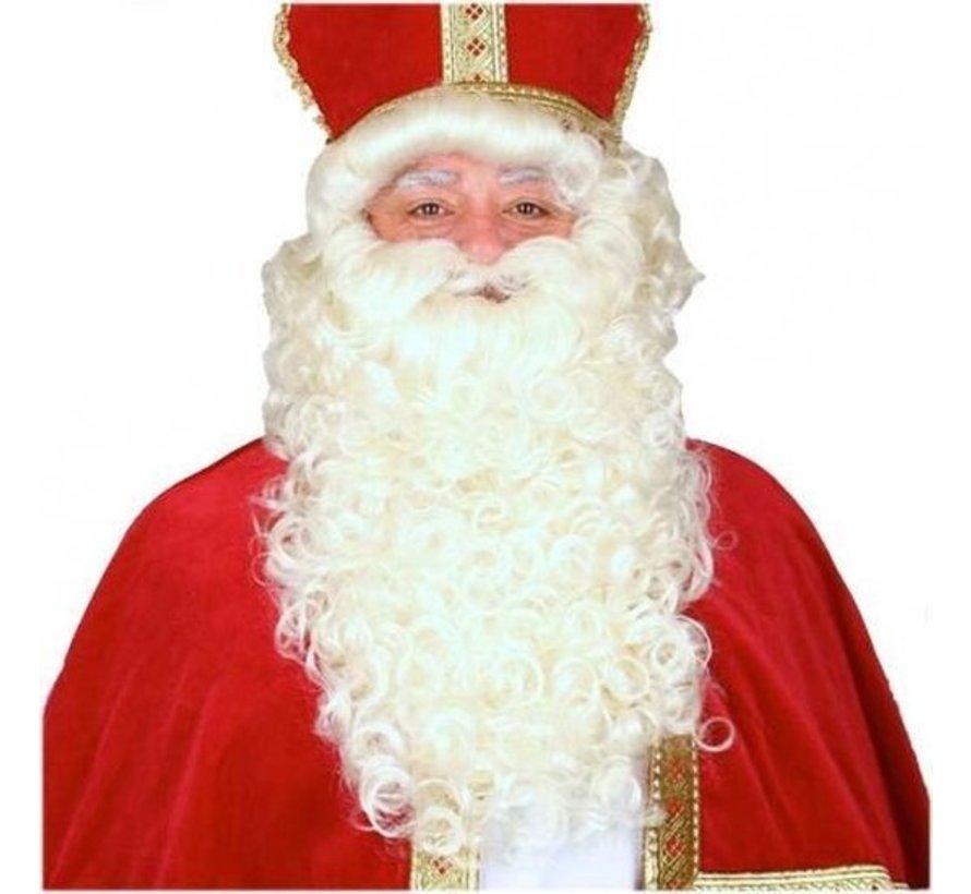 St.Nicholas Wig | Wig of St.Nicholas| Fireproof | St.Nicholas and his help