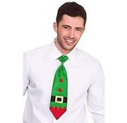 Wicked Costumes  Cravate verte à paillettes pour Noël